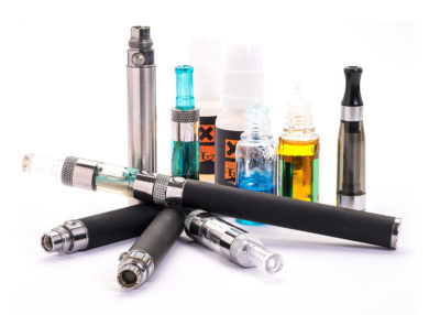 e-cigarettes and e-liquidsImage